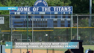 Rifleman Shoots House Whip Steve Scalise, Others, At GOP Baseball Practice - Video
