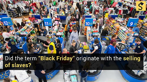 How Did Black Friday Get Its Name?