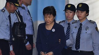 Former South Korean President Sentenced To 24 Years In Prison