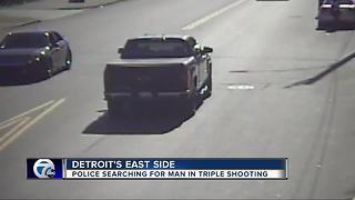 Deadly triple shooting - Video