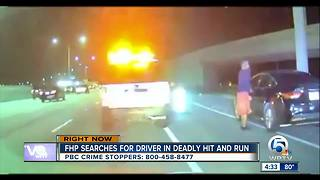 Driver sought in fatal Boca Raton hit-and-run wreck - Video