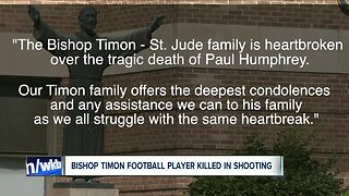 Bishop Timon High School student identified as victim of Briscoe Avenue shooting