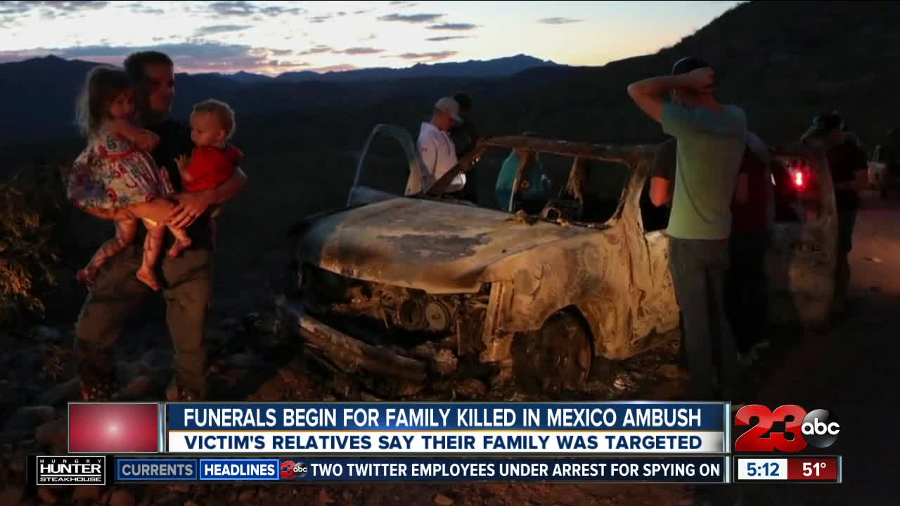 Funerals Begin for Family Killed in Mexico Ambush