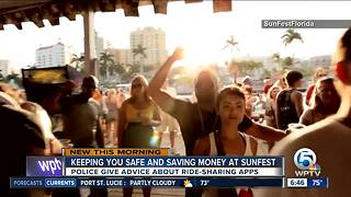 Safety tips for Sunfest 2018 - Video