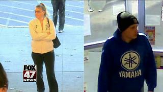 Meridian Township Police need your help in identifying these two people - Video