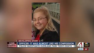 Police investigate Overland Park teen's death - Video