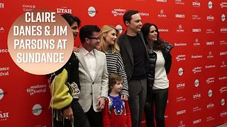 How a toddler got Claire Danes & Jim Parsons to chill - Video