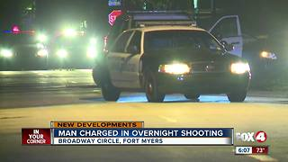 Early morning officer-involved shooting in Fort Myers ends in arrest - Video