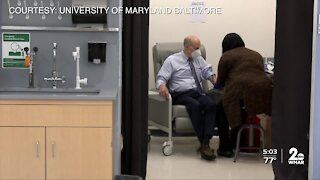 UMB president receives shot of potential coronavirus vaccine