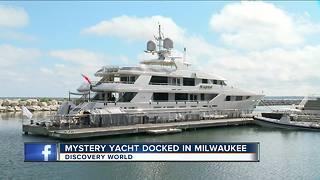 Big yacht docked near Discovery World creates buzz, speculation over owner - Video
