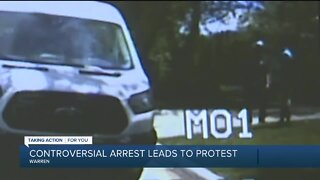 Controversial arrest leads to protest