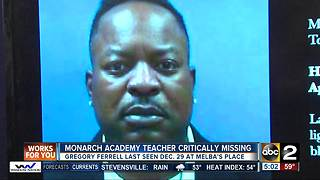 Baltimore police looking for critically missing teacher - Video