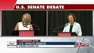 Deb Fischer, Jane Raybould address taxes at U.S. Senate debate