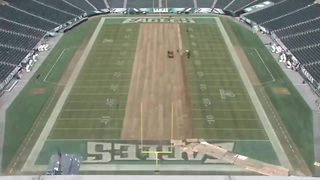 Playing Conditions At Lincoln Financial Field Could Impact NFC Championship Game - Video