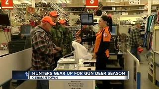 Hunters prepare for Wisconsin's annual gun deer season - Video