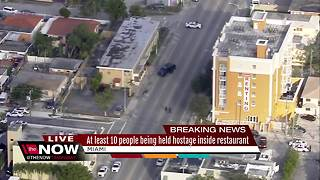 At least 10 people being held hostage - Video