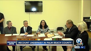 Recount in Palm Beach County may not meet deadline of November 15 - Video