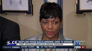 First African-American and first female elected as new house speaker