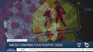 DMUSD confirms four positive COVID-19 cases