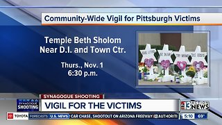 Vigil for Pittsburgh victims on Thursday