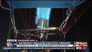 Gatesway Balloon Festival kicks off tonight in Broken Arrow - Video