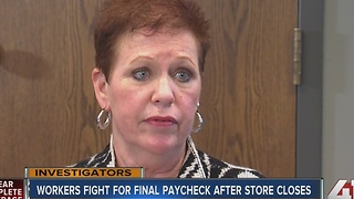 Business closes without paying employees - Video