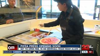Pizza Press opening in Northwest Bakersfield on February 15th