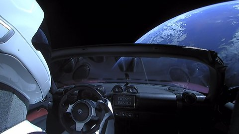 Those Pictures Of The Tesla In Space Might Have Been Illegal