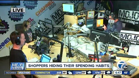 Mojo in the Morning: Shoppers hiding their spending habits