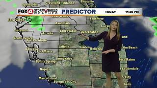 Warm Again Monday, Cold Front Arrives Late Tuesday - Video