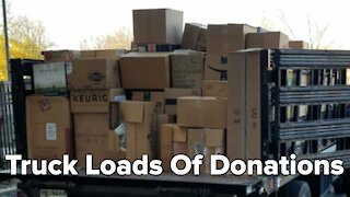 Milwaukee woman donates clothes by the truck load