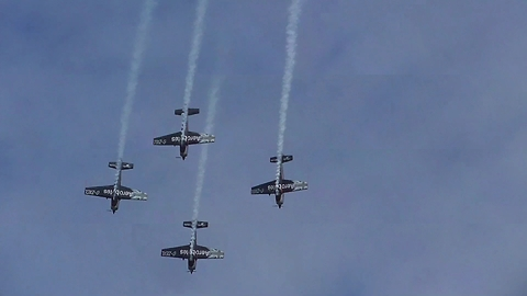 The Blades Dynamic Display At Torbay Airshow 2017
