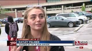Creighton student involved in a hit and run speaks 4:30pm - Video