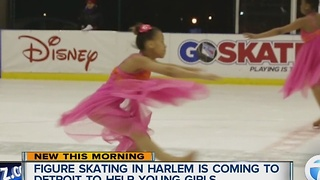 Figure Skating in Harlem announces expansion in Detroit - Video