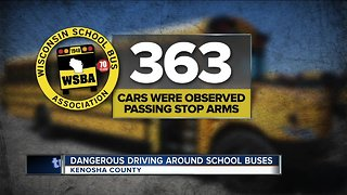School bus drivers say motorists aren't following safety rules