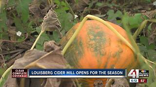 Louisberg Cider Mill opens for the season - Video
