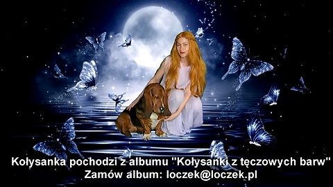 Lullaby in Polish for children - space