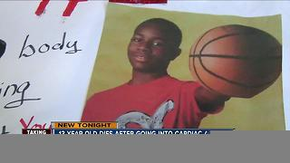 13-year-old dies after going into cardiac arrest - Video