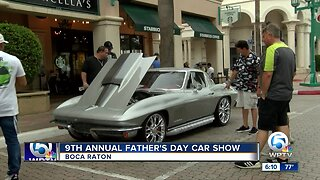 9th annual Father's Day Car Show held in Boca Raton
