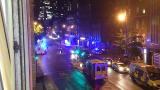 Heavy Police Presence Recorded South of London Bridge Incident - Video