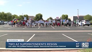 Two Arizona superintendents resign, highlighting education tensionso
