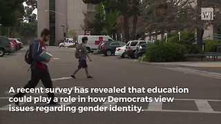 77% of College-Educated Democrats Say Gender Can Be Different from What Was Assigned at Birth - Video
