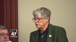 MSU President Lou Ann K. Simon at Nassar hearing - Video