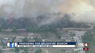 Preparing for Brush Fire Season - Video