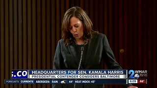 Kamala Harris looks to Baltimore as potential base of operations for presidential bid