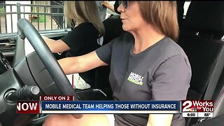 Mobile Medical Team Helping Those Without insurance