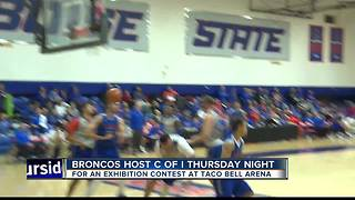 Broncos get set for the Yotes on Thursday - Video