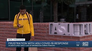 Frustration with ASU COVID-19 response