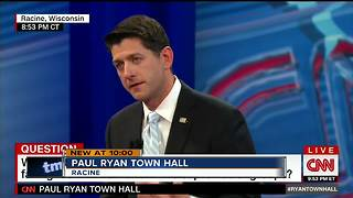 Paul Ryan holds televised town hall - Video