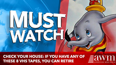 Check Your House: If You Have Any Of These 8 VHS Tapes, You Can Retire Now…
